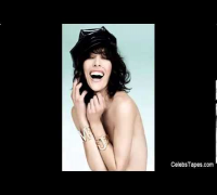 Milla Jovovich Topless And Oops Red Carpet Video!!