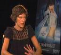 Milla Jovovich - Ultraviolet Interview