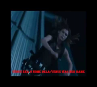 Milla Jovovich Venus Shocking Blue Resident Evil fight translated English subtitles português