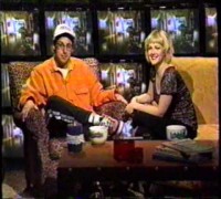 MTV Lovelorn with Adam Sandler & Drew Barrymore 1998 (Wedding Singer promotion)