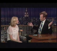 Naomi Watts on The Late Late Show with Conan O'Brien on NBC (November 30, 2005)