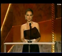 Natalie Portman 2012 SAG Awards Presenter