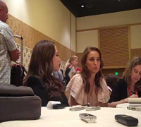 Natalie Portman and Kat Dennings Discuss THOR