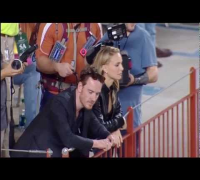 Natalie Portman and Michael Fassbender at Texas/Baylor