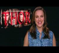 "Natalie Portman Crushes on ""Thor"" Costar"