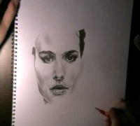 Natalie Portman - Drawing
