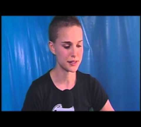 Natalie Portman, interview, rap, dnc, laugh, Oscar, Hebrew