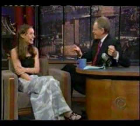 "Natalie Portman on David Letterman ""Star Wars Episode 1"""