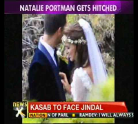 "Natalie Portman says ""I do"" - NewsX"