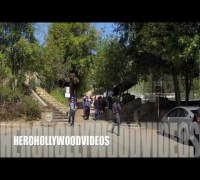 "NATALIE PORTMAN & the PAPARAZZI GO hiking in Hollywood ""HEROHOLLYWOODVIDEOS"" EXCLUSIVE"