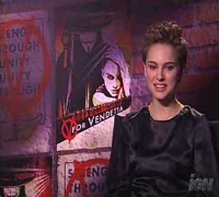 Natalie Portman - V for Vendetta interview