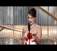 Natalie Portman Wins Best Actress Motion Picture Drama - Golden Globes 2011