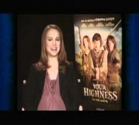 Natalie Portman y Hayden Christensen un momento