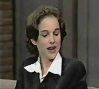 Natalie Portman's 1st Letterman appearance (part 2)