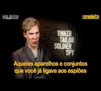 O Espião que Sabia Demais | Omelete Entrevista Benedict Cumberbatch