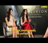 Oblivion | Omelete Entrevista Olga Kurylenko e Andrea Riseborough