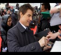 Oblivion Premiere: Tom Cruise, Olga Kurylenko in Moscow