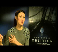 Olga Kurylenko Interview - Oblivion