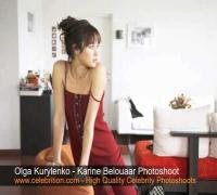 Olga Kurylenko - Karine Belouaar Photoshoot 2008