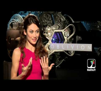"Olga Kurylenko loves acting without words | ""Oblivion"" interview"