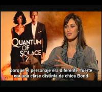 Olga Kurylenko (Quantum Of Solace) en entrevista con Alex Medela
