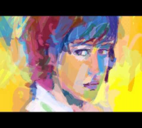 Olga Kurylenko Speed Painting
