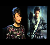 Olga Kurylenko star of OBLIVION - Irish premiere interview