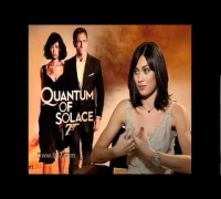 Olga Kurylenko talks Quantum of Solace - JoBlo.com