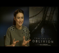 Olga Kurylenko tells us about her new sci-fi movie Oblivion, and working with Tom Cruise