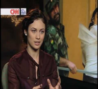 Olga Kurylenko Uncut on CNN's The Screening Room.