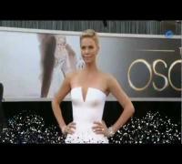 Oscars: El vestido de Charlize Theron protagoniza la alfombra roja