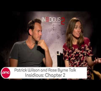 Patrick Wilson & Rose Byrne Chat INSIDIOUS: CHAPTER 2 With AMC