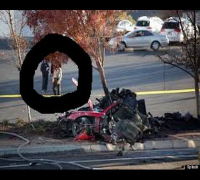 PAUL WALKER CRASH (Real ghost caught on tape after fatal car crash)