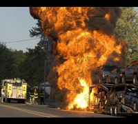 Paul Walker Crash The Moment Of Impact & Massive Inferno [AMAZING VIDEO]