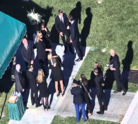 PAUL WALKER FUNERAL (PICS) :  Family and Friends Say Final Goodbyes (12/14/13)