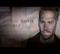 PAUL WALKER (R.I.P.) Special Video [TRIBUTE] - Fast & Furious 1-7: Brian O'Conner Tribute