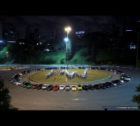 Paul Walker Tribute - Brazil - Over 150 cars in São Paulo