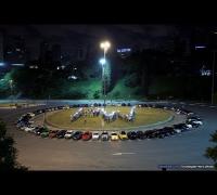 Paul Walker Tribute - Brazil - Over 150 cars in São Paulo