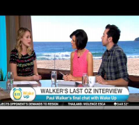 Paul Walker's Last Australian Interview