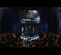 "Penelope Cruz winning Best Supporting Actress for ""Vicky Cristina Barcelona"""