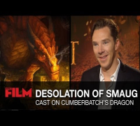 Peter Jackson & The Desolation Of Smaug cast talk Benedict Cumberbatch's dragon