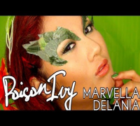 Poison Ivy (Uma Thurman) Makeup Tutorial :)