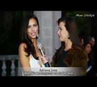 [PORTUGUÊS] Portuguese interview with Adriana Lima at Brazil Foundation Gala