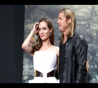 Premiere von World War Z - Angelina Jolie und Brad Pitt in Berlin - 5 Juni, 2013