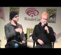 Prometheus Wondercon Panel with Ridley Scott, Charlize theron, michael fassbender and david lindelof