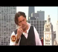 Public Enemies * ET Interviews with Johnny Depp,Christian Bale and Marion Cotillard * {18/6/09}