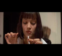 Pulp Fiction ita:Uma Thurman balla - Girl, You'll Be A Woman Soon