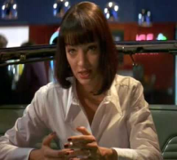 Pulp Fiction - the 'Jack Rabbit Slims' restaurant scene