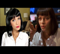 Pulp Fiction Uma Thurman Halloween Costume Tutorial