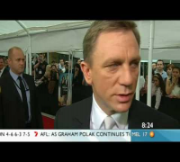 Quantum of Solace - Daniel Craig, Olga Kurylenko on SUNRISE
